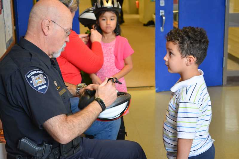 COURTESY PHOTO - Hillsboro School District has several programs in place to help students stay safe, including several school resources officers.