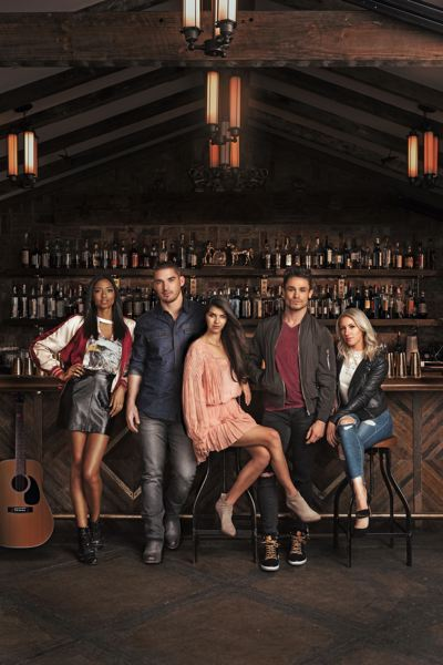 PHOTOS COURTESY CMT NETWORK - Kerry Degman, second from left, and the cast of CMT Network's 'Music City.'
