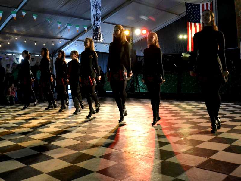 COURTESY: SHERWOOD CENTER FOR THE ARTS - The Murray Irish Dancers will perform at the Sherwood Center for the Arts on St. Patrick's Day.