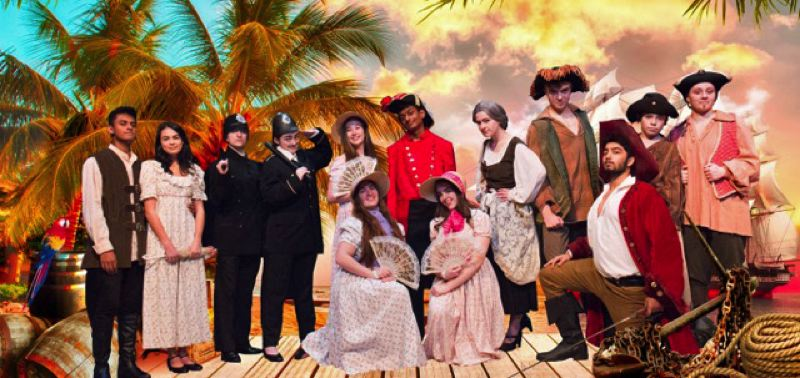 The cast and crew get ready to launch the classic Gilbert and Sullivan musical comedy.