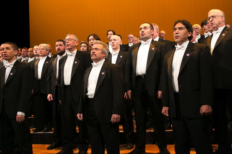 COURTESY: PORTLAND GAY MEN'S CHORUS - The Portland Gay Men's Chorus will host the Beijing Queer Chorus later this month in the Chinese group's first public tour of the United States, and then PGMC will be the first LGBTQ chorus to ever tour China in September.