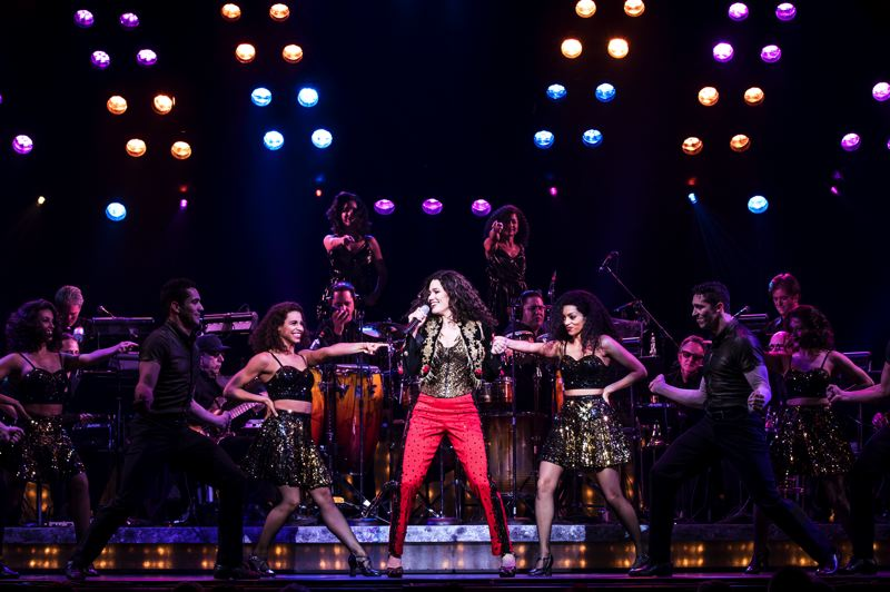 COURTESY: BROADWAY IN PORTLAND - Christie Prades plays Gloria Estefan in a touring 'On Your Feet!,' the story of Emilio and Gloria Estefan that features iconic music from the 1980s. It'll stage in Portland in October.