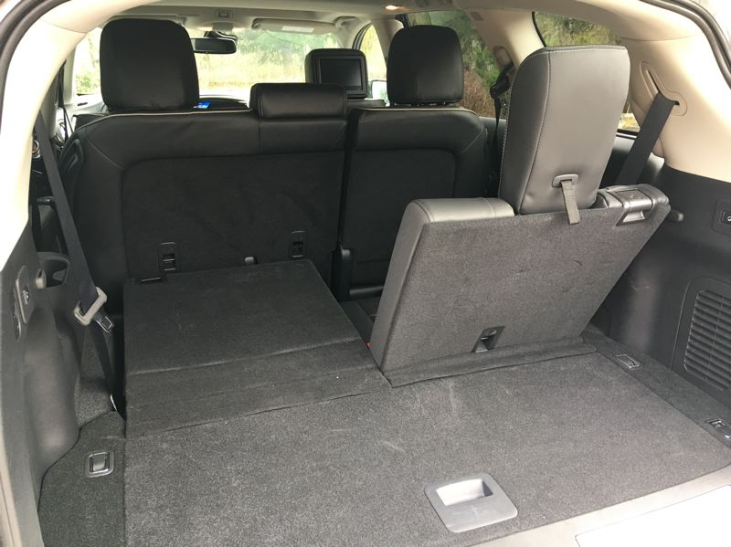 PORTLAND TRIBUNE: JEFF ZURSCHMEIDE - The third of seats should be reserved for children, but there is plenty of cargo space behind them, and even more when they are folded flat.