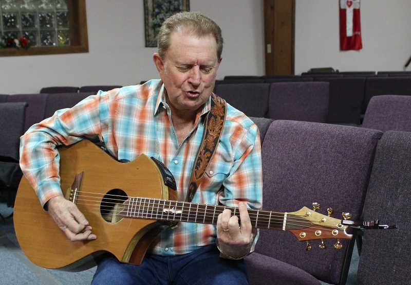 HOLLY SCHOLZ/CENTRAL OREGONIAN  - New Life Bible Chapel Pastor Ron Hemphill recently released his eighth Christian Country music album, 'Still Singing His Song.' He invites the community to his Album Release Concert this Sunday at 4 p.m.