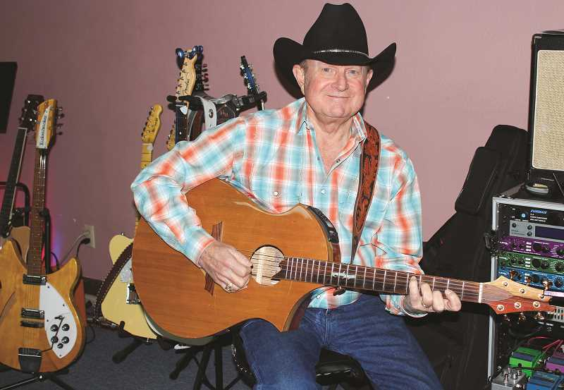 HOLLY SCHOLZ/CENTRAL OREGONIAN  - Pastor Ron Hemphill says God gave him the gift of music, and he is humbled to think his Christian Country music has touched the lives of so many over the years.