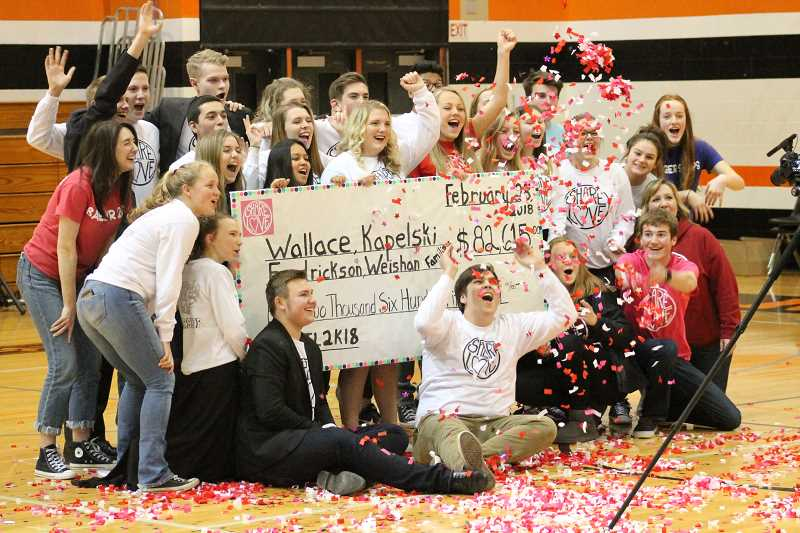 PIONEER PHOTO: CONNER WILLIAMS - This year, a record $82,615 was raised during the Share the Love fundraiser.