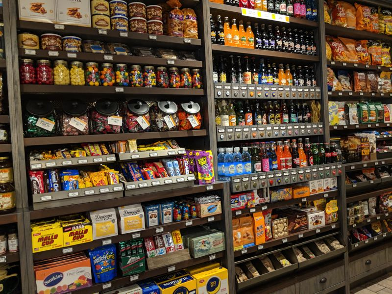 PAMPLIN MEDIA GROUP: JOSEPH GALLIVAN - Cracker Barrel's Beaverton Old Country Store contains plenty of sugary treats including vintage drinks and candy.