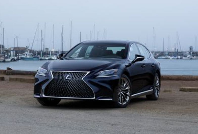COURTESY TOYOTA MOTOR SALES - The all-new 2019 Lexus LS 500 is a striking full size luxury sedan wtih impressive performance.