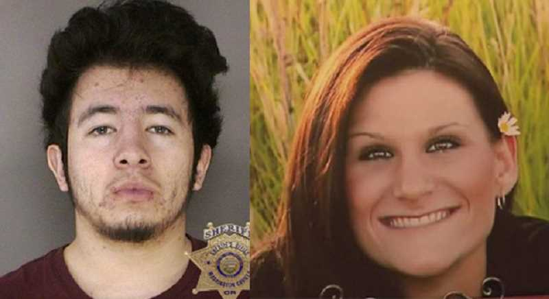 Jaime Tinoco, left, is serving a life sentence after stabbing Forest Grove resident Nicole Laube, right, with a kitchen knife in 2014. Tinoco was also convicted of raping a woman in Eugene several days later.