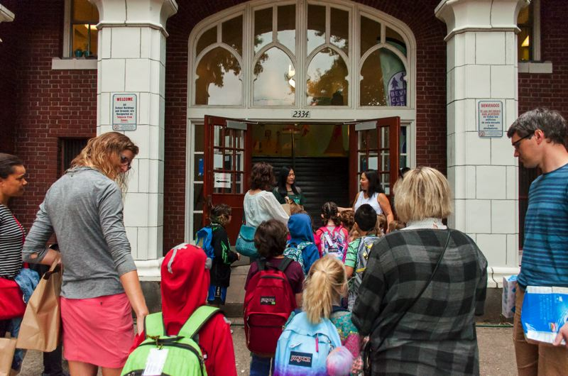 COURTESY: PORTLAND PUBLIC SCHOOLS - Beverly Cleary students headed back to school for the 2017-18 school year in August. They will likely do so again this year, according to the draft 2018-19 school calendar.