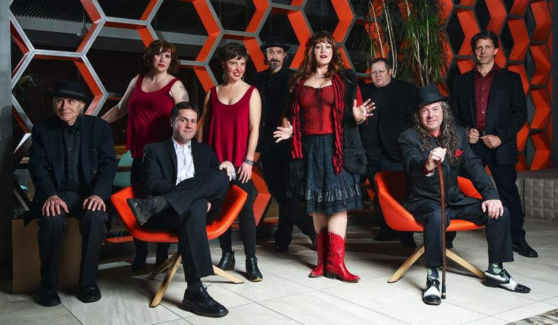 SUBMITTED PHOTO - Kris Deelane and her nine-piece band The Hurt will bring 'old school/new school soul' to the Milwaukie Elks Lodge.