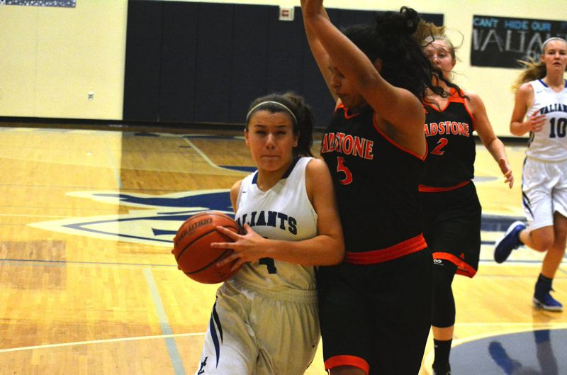 TIMES FILE PHOTO - Valley Catholic junior Callie Kawaguchi had a big game for the Valiants against Madras.