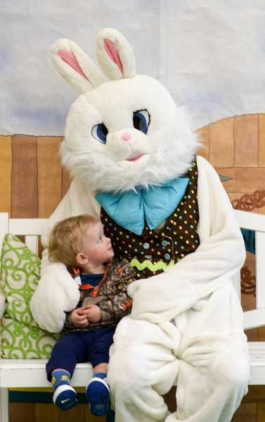 SUBMITTED PHOTO - West Linn Community Preschool will host its 42nd-annual Peter Rabbit Pancake Breakfast and Carnival from 8 a.m. to noon March 17 at West Linn High School, 5464 W. Ave St., West Linn. Proceeds from the event are used by the school to meet program needs, fund the scholarship program and fund future improvements to the school. The carnival features games, raffle prizes and an auction with prizes such as a years tuition at the school, a trip to Mexico and a helicopter ride. Special guest appearing from 9:30 to 11:30 a.m. at the event is Rojo the Easter llama. Presale tickets are $6 for adults and $4 for children ages 3 to 12; tickets sold at the door are $7 and $5. For pre-purchase tickets call 503-657-5050.