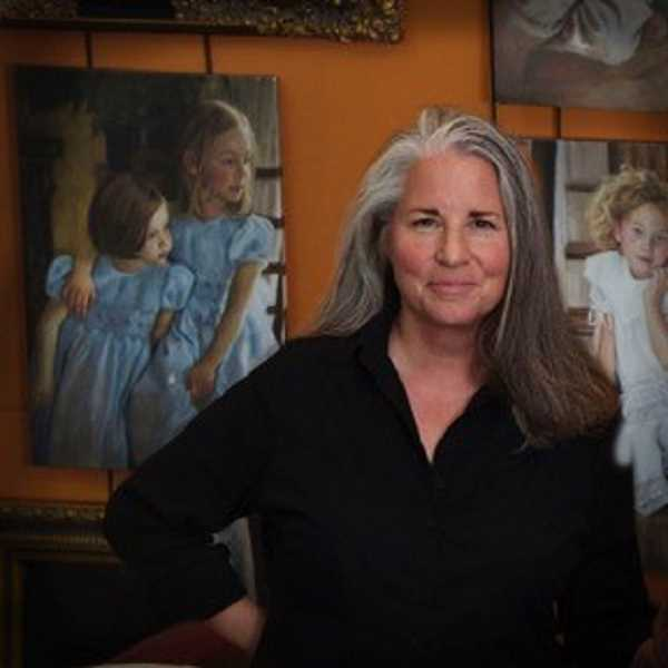 SUBMITTED PHOTO  - Portrait artist Robin Damore will be the guest speaker at the Lakewood Center Associates meeting March 15.