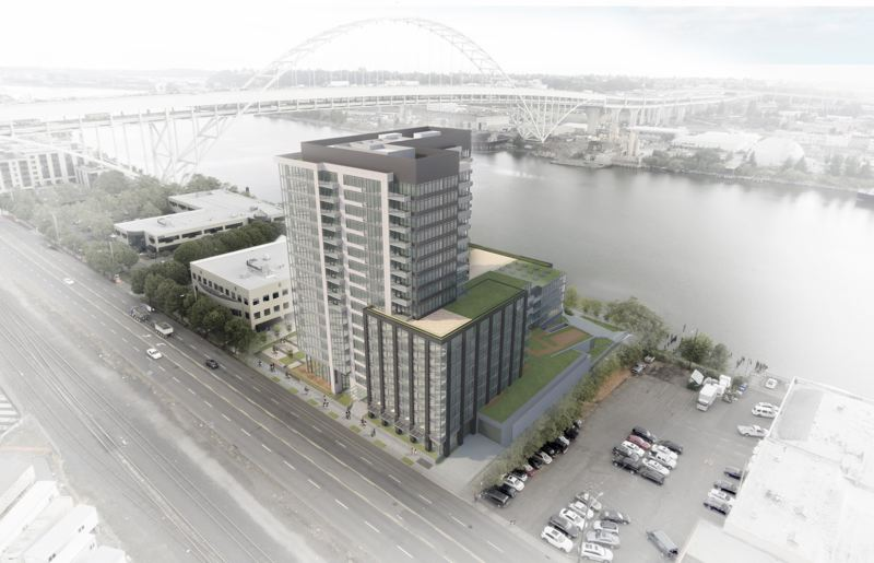 LINCOLN PROPERTY GROUP - The proposed Fremont Place, Apartments .