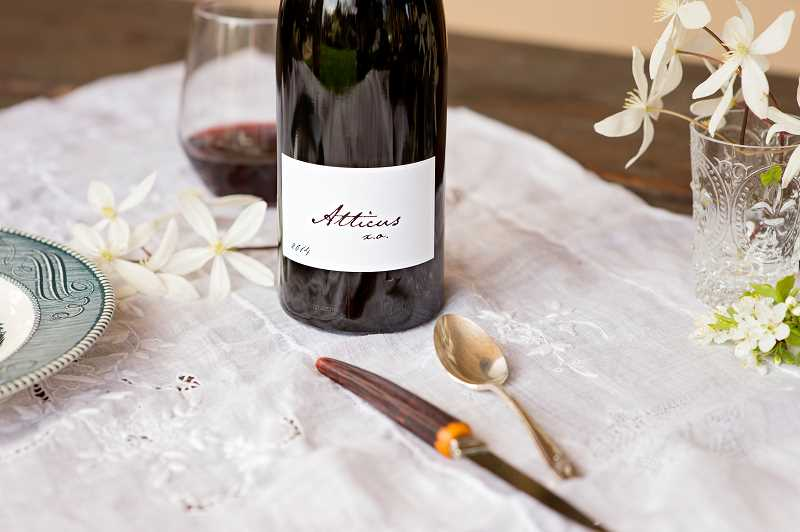 Ximena Orrego makes pinot noir under three Atticus Vineyard lables. This is the premium lable, XO.