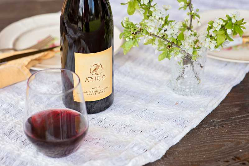 Atticus Vineyards Yamhill Carlton lable is the everyday pinot noir Ximena Orrego creates.