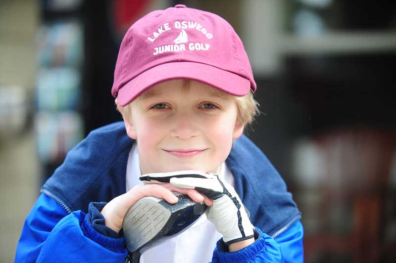 SUBMITTED PHOTO  - Take advantage of spring break and sign children up for the junior golf camp at the Lake Oswego Golf Course.