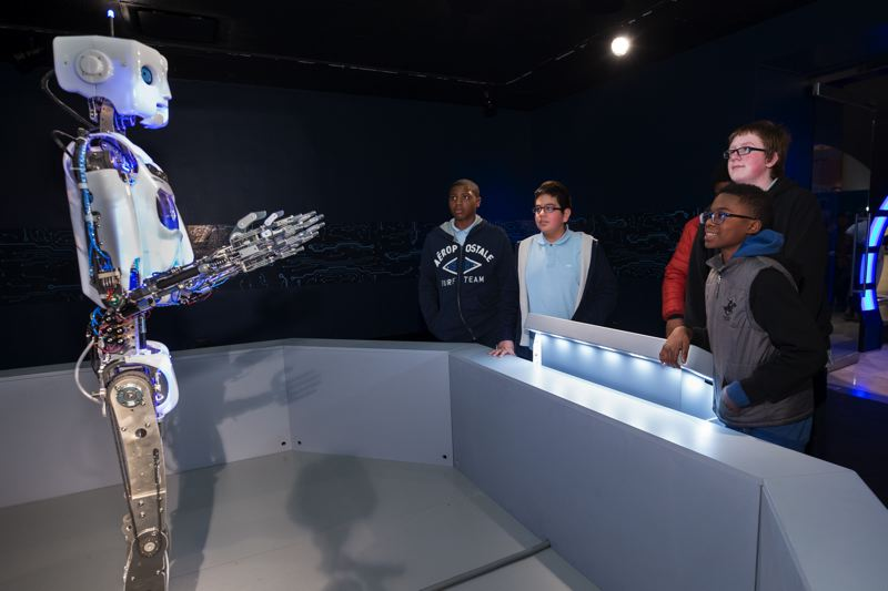 COURTESY: J.B. SPECTOR/MUSEUM OF SCIENCE AND INDUSTRY - It's robots, robots and more robots at OMSI.