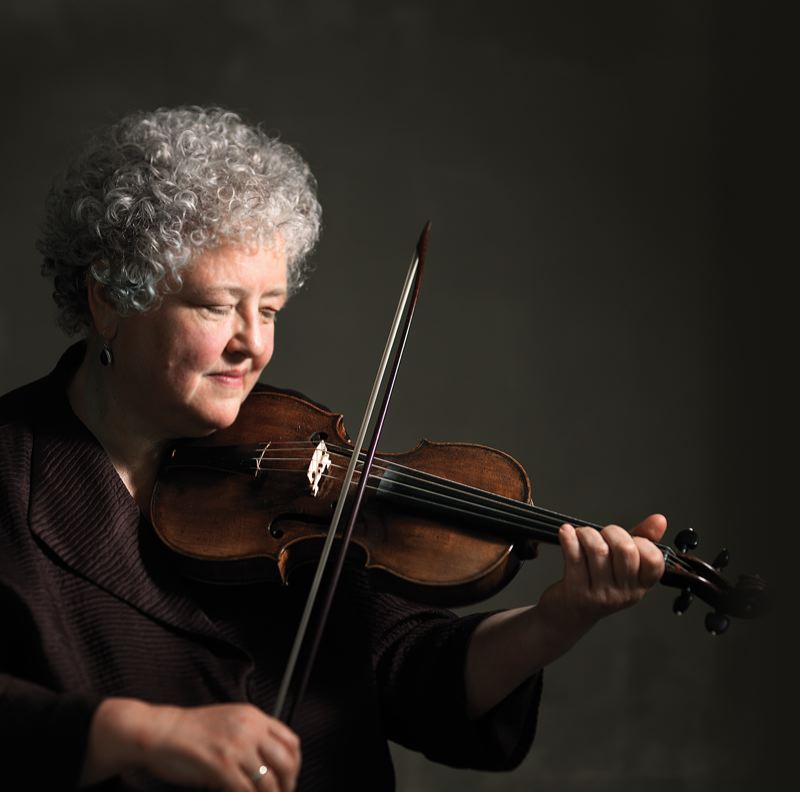 COURTESY PHOTO - Monica Huggett leads the Portland Baroque Orchestra in a celebration of Italian music, 'Flights of Fantasy.'