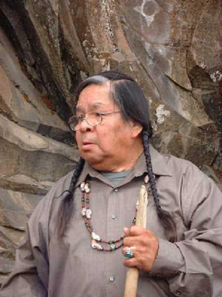 COURTESY OF ANNE MORIN - The Beaverton Historical Society will present an evening with Ed Edmo,a Shoshone-Bannock poet and traditional storyteller, at 7 p.m. Tuesday, March 13, at the Elsie Stuhr Center, 5550 S.W. Hall Blvd.