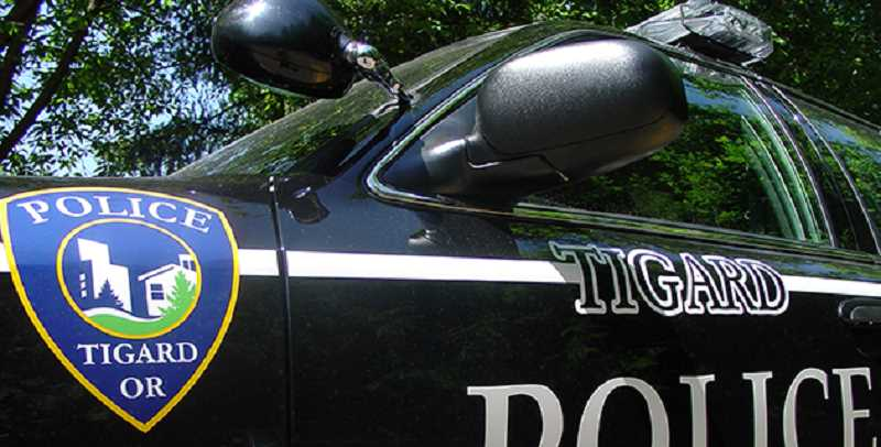 COURTESY OF CITY OF TIGARD - A Tigard police officer was arrested on suspicion of driving under the influence of intoxicants