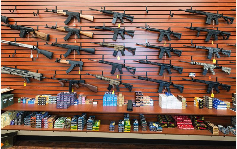 PAMPLIN MEDIA GROUP FILE PHOTO - Oregon legislative leaders say they could take action to protect major sporting goods retailers against discrimination cases after the stores said they would not sell firearms to anyone younger than 21.