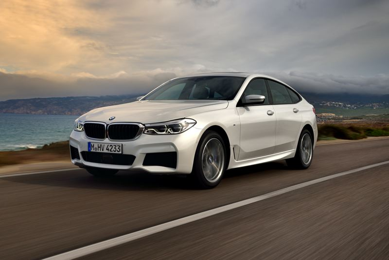 COURTESY BMW - The 2018 BMW 640i xDrive GT is the is a stylish larger hatchback that is both luxurious and practical.