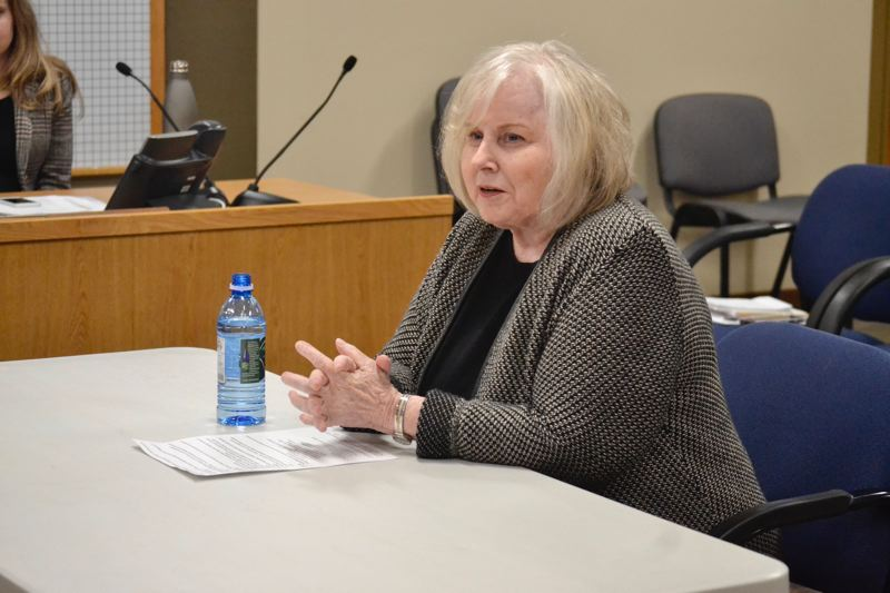 POST PHOTO: BRITTANY ALLEN - Jan Lee is a former represenative for House District 51 and attended grade school in Sandy.