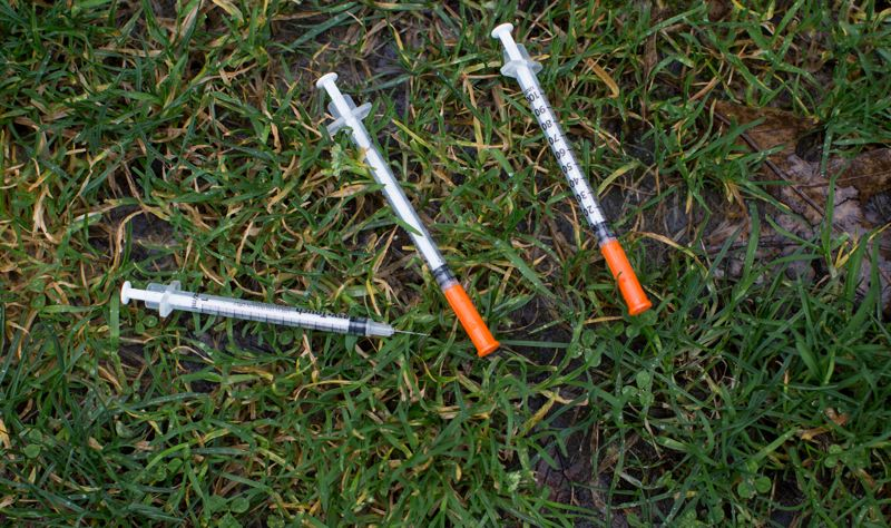 MULTNOMAH COUNTY - The number of improperly discarded syringes in Portland keeps going up.