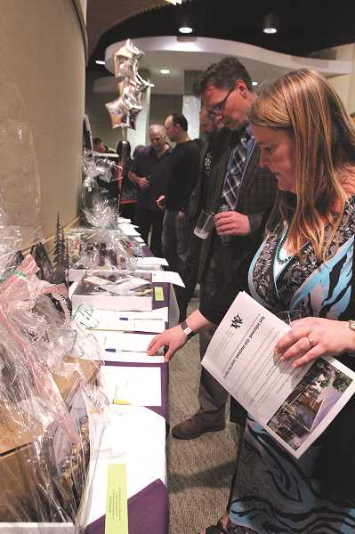 This year's North Marion All-Schools Auction will be Saturday night, beginning at 5 p.m. at the Woodburn Legacy Health Center. The night will include a silent and oral auction, as well as other activities.