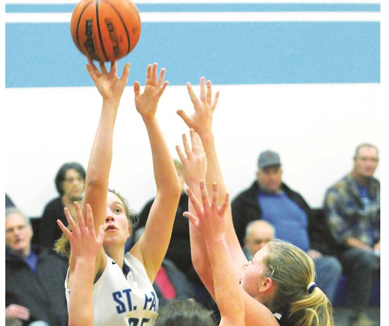 GRAPHIC FILE PHOTO - Sophomore Erin Counts was named to the All-Tri-River Conference first team after leading the Bucks to a second-place finish in the league and a No. 6 ranking in the state.