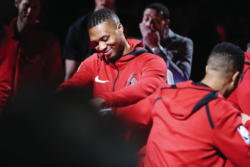 PORTLAND TRIBUNE: DAVID BLAIR - Trail Blazers guard Damian Lillard says he wants everyone who impacts his life, including his coaches and teammates, to know that Ihe appreciates them.