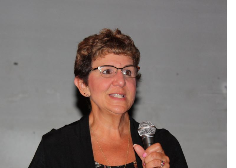 CONTRIBUTED PHOTO - Shar Giard, chairwoman of the Centennial School Board, calls Holt Homes move to redraw the boundary 'outrageous.'