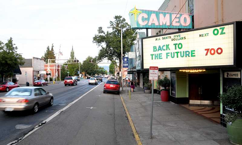 GRAPHIC FILE PHOTO - Built in 1939, the historic art-deco Cameo Theatre is moving toward being listed on the National Register of Historic Places.