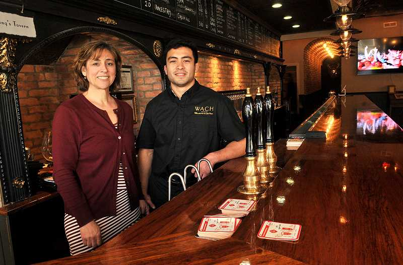 TIDINGS PHOTOS: VERN UYETAKE - Owner Ann Chay and her son Toney, who is general manager, wanted to create a wholly unique community gathering place when they opened the new Willamette Ale & Cider House.