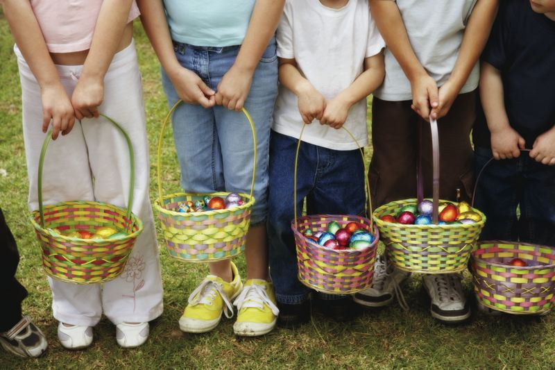 FILE PHOTO - This spring, Sandy has an Easter egg hunt for every age. From 9-11 a.m. on Friday, March 30, the Sandy Senior Center staff will host its first-ever senior citizen Easter egg hunt.