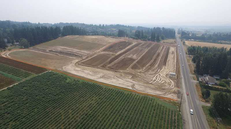 PAMPLIN MEDIA GROUP FILE PHOTO - Beaverton wants to develop the rest of the South Cooper Mountain urban reserve area, where a new high school has opened and mutliple subdivisions are planned.