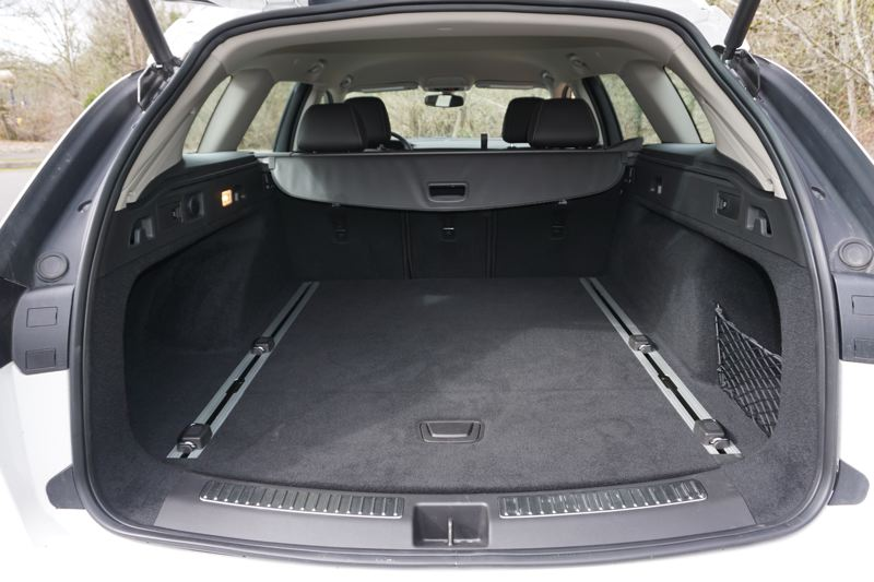 PORTLAND TRIBUNE: JEFF ZURSCHMEIDE - Station wagons are all about room, and the TourX has plenty, even more with the rear seats folded down.