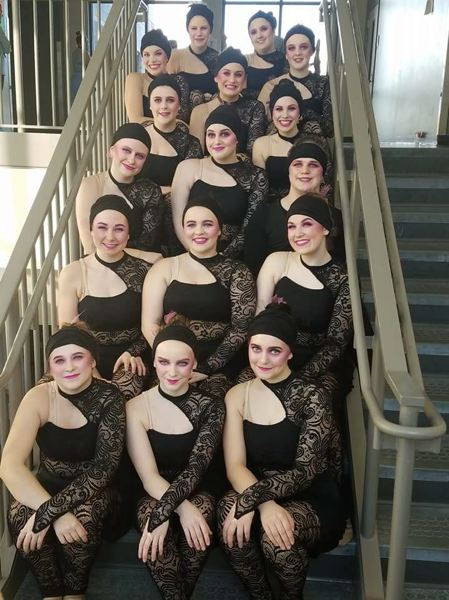 PHOTO COURTESY OF PAM DIDIER-DELWISCH - Scapooose Vision dance team