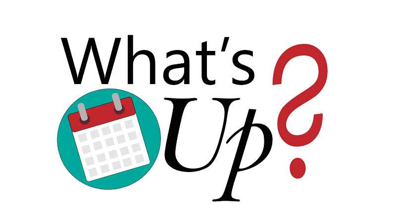 GRAPHIC ILLUSTRATION - Here's what's going on in and around Molalla this week, March 21-27, plus upcoming events.