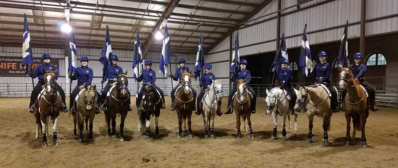 LISA WING - Canby's drill team took top honors in the Freestyle 5+ competition.