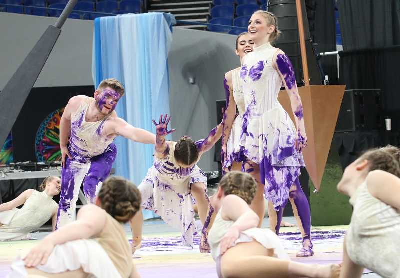 The Canby dance team wowed the judges during its state competition dance.
