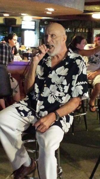 COURTESY PHOTO - Longtime mountain resident and a member of Sandy High Schools 1956 graduating class, the late Cliff Davis was well-known for his singing talents on mountain area karaoke nights.