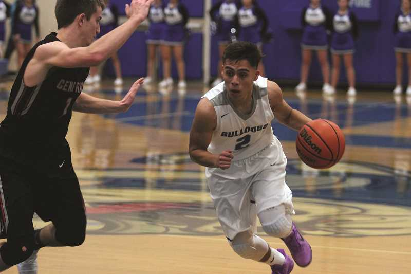 PHIL HAWKINS - Woodburn senior Jaime Tlatenchi was named to the Mid-Willamette Conference Honorable Mention Team.