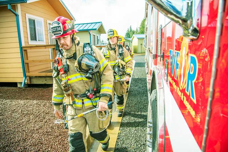 SUBMITTED PHOTO - Residents of the Tualatin Valley Fire & Rescue District approved last week measures bringing Newberg and rural land to its north into the fold.