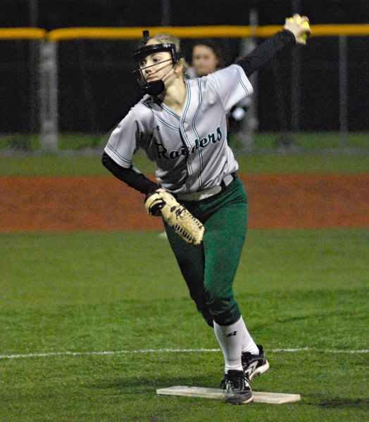 GRESHAM OUTLOOK: MATT RAWLINGS - Reynolds's Hailey Burmesiter threw a complete game for the Raiders in the win.