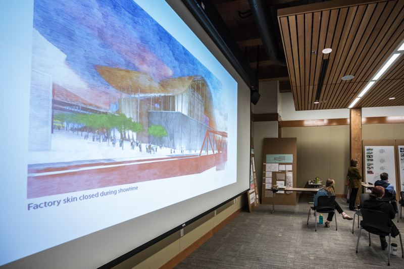 SUBMITTED: HENNEBERY EDDY ARCHITECTS - Hennebery Eddy Architects worked with the Albina Vision Trust to develop visuals to go along with the pre-master plan for the district.