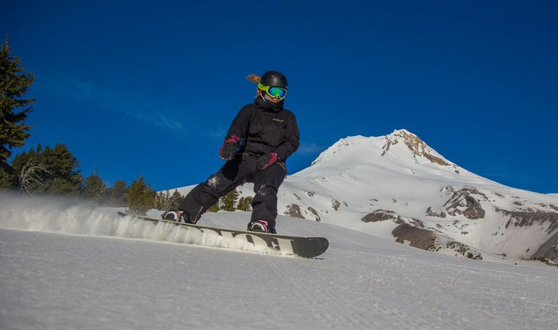 CONTRIBUTED PHOTO: MT. HOOD MEADOWS, HALLMAN - In the last week of February, Mt. Hood Meadows received 108 inches of snowfall, and the ski and snowboard area is now 25 percent ahead in visitors compared to an average March.