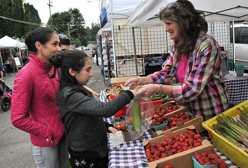 TIDINGS FILE PHOTO - Networking businesses and hosting events like the farmers market is another core aspect of revitalizing the downtown area.